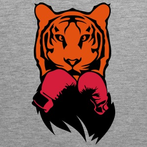 Tiger boxer glove boxing Sports wear - Men's Premium Tank Top