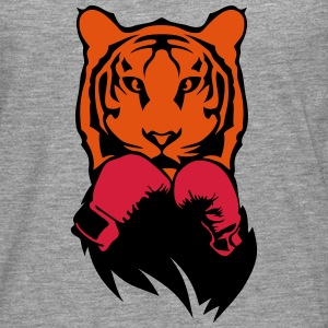 Tiger boxer glove boxing Long sleeve shirts - Men's Premium Longsleeve Shirt