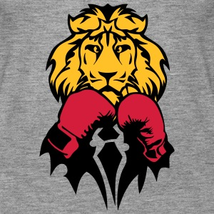 lion boxer glove boxing Tops - Women's Premium Tank Top