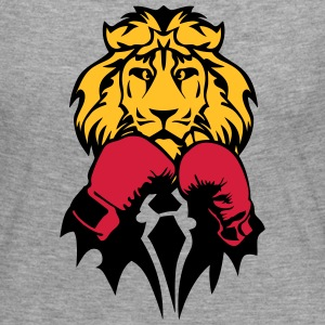 lion boxer glove boxing Long Sleeve Shirts - Women's Premium Longsleeve Shirt