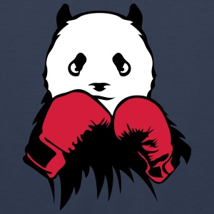 panda boxer glove boxing Sports wear - Men's Premium Tank Top