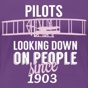 Pilots looking down Tee shirts - T-shirt Premium Femme