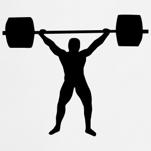 Weight lifting Kookschorten - Keukenschort