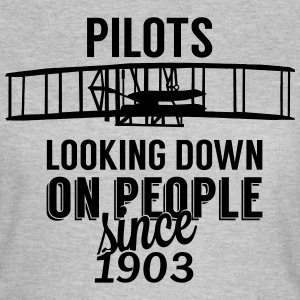 Pilots looking down T-Shirts - Women's T-Shirt