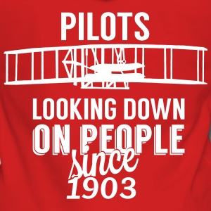Pilots looking down Sweat-shirts - Veste à capuche Premium Femme