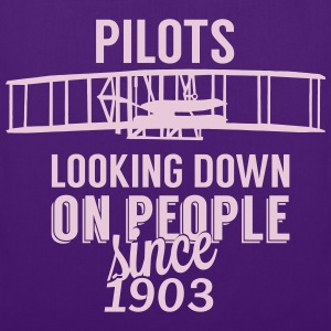 Pilots looking down Sacs et sacs à dos - Tote Bag