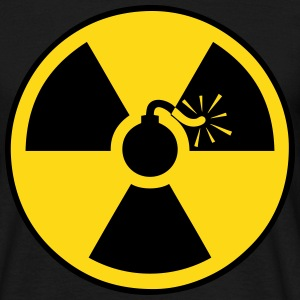 nuclear bomb Tee shirts - T-shirt Homme