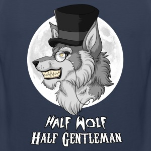 Half Wolf Half Gentleman Sports wear - Men's Premium Tank Top