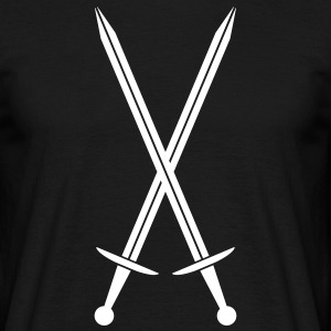 Crossed swords T-shirts - Mannen T-shirt
