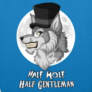 Half Wolf Half Gentleman Bags & Backpacks - EarthPositive Tote Bag