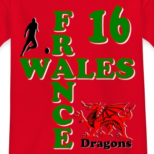 Wales Dragons 16 Shirts - Teenage T-shirt