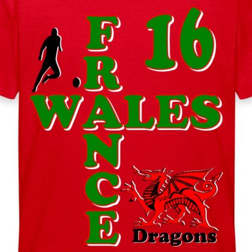Wales Dragons football 2016