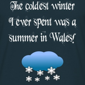 Welsh Winter - Men's T-Shirt