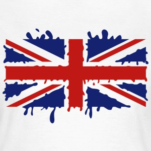 Dripping Union Jack - Women's T-Shirt