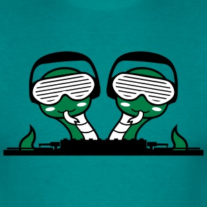duo team buddies 2 snakes crew hang cool mischpult T-Shirts - Men's T-Shirt