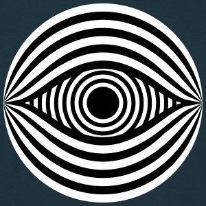 Optical Illusion Eye T-Shirts - Men's T-Shirt