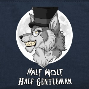 Half Wolf Half Gentleman Bags & Backpacks - Retro Bag
