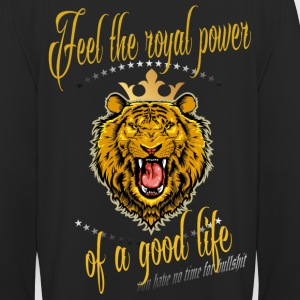 Kapuzenpullover Unisex - FEEL THE ROYAL POWER OF A - Unisex Hoodie