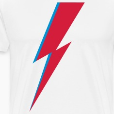 flash, music, rebel, Bowie, hero, space, blackstar Camisetas
