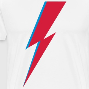 flash, music, rebel, Bowie, hero, space, blackstar T-Shirts - Men's Premium T-Shirt