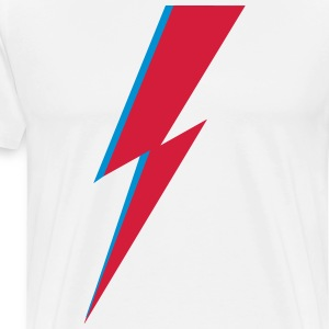 flash, music, rebel, Bowie, hero, space, blackstar T-shirts - Premium-T-shirt herr