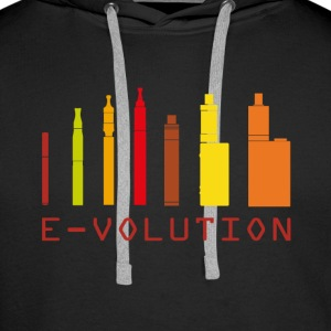 Vape Design Color Ecigs Pullover & Hoodies - Männer Premium Hoodie
