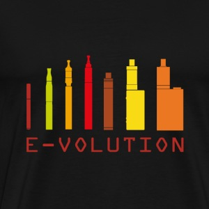 Vape Design Color Ecigs T-Shirts - Men's Premium T-Shirt