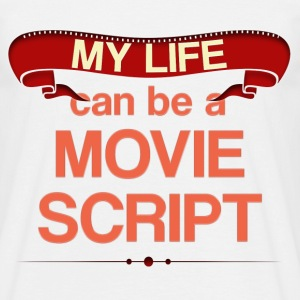 Movie script T-Shirts - Men's T-Shirt