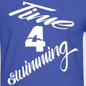 time4swimming T-Shirts - Männer Kontrast-T-Shirt