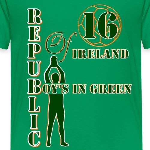 Republic of Ireland boys in green 2016