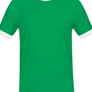 Emerald green Hemp - Cannabis leaf Bags  - Men's Ringer Shirt