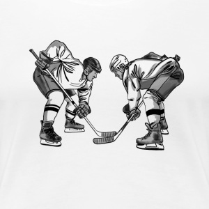 hockey T-Shirts - Women's Premium T-Shirt