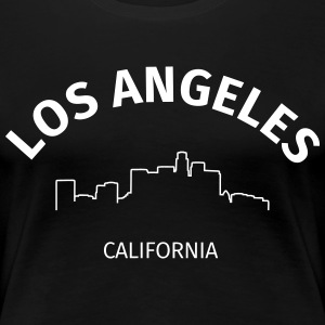 Los Angeles T-skjorter - Premium T-skjorte for kvinner