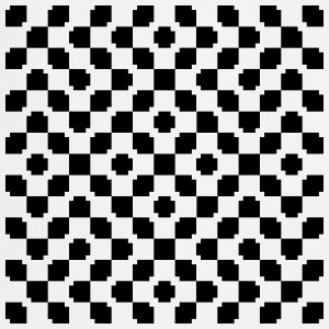 Optical Illusion Fartuchy - Fartuch kuchenny
