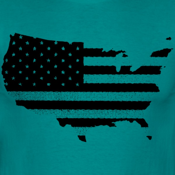 USA - T-shirt Homme