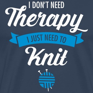 Therapy - Knit T-skjorter - Premium T-skjorte for menn