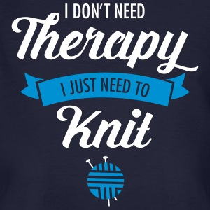 Therapy - Knit T-shirts - Ekologisk T-shirt herr