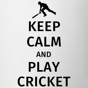 keep calm and play cricket Krus & tilbehør - Kop/krus