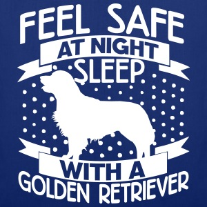 Feel safe at night - Retriever Bags & Backpacks - Tote Bag