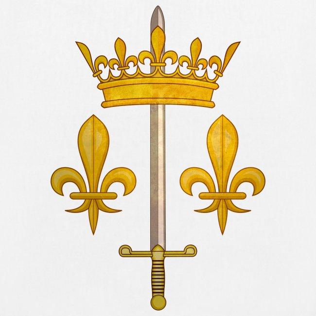 Sac Tissu Bio Blason Jeanne d'Arc