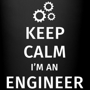Keep Calm I'm an Engineer Kopper & tilbehør - Ensfarget kopp
