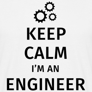 Keep Calm I'm an Engineer Camisetas - Camiseta hombre