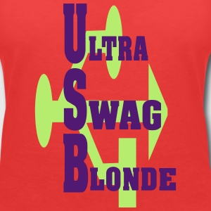 ultra sWAG BLONDE Tee shirts - T-shirt col V Femme