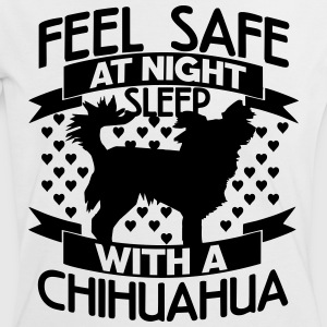 Feel safe at night – Chihuahua T-Shirts - Women's Ringer T-Shirt