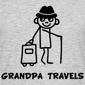 Grandpa travels T-Shirts - Men's T-Shirt