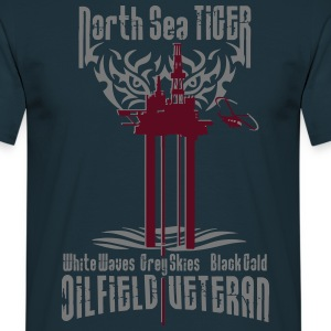 Oil Rig Oil Field Veteran T-Shirts - Men's T-Shirt