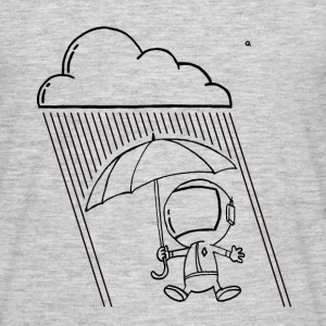 rain on an astronaut - T-shirt Homme