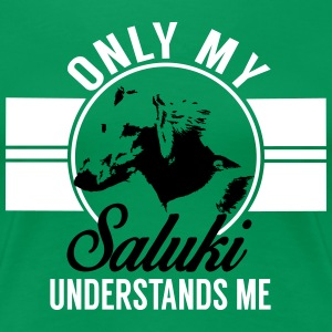 Only my Saluki... T-Shirts - Women's Premium T-Shirt