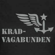 Motiv ~ T-Shirt Damen - Krad-Vagabunden - grauer Aufdruck
