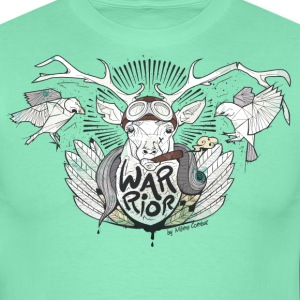 Warrior stag - T-shirt Homme